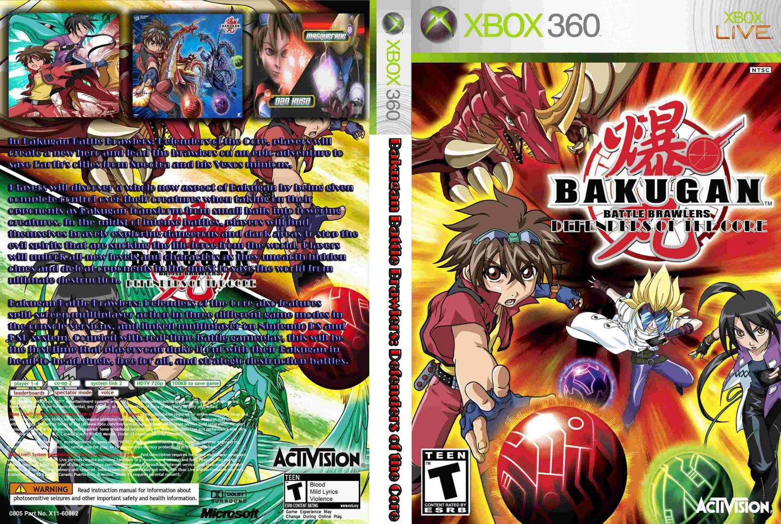 Галерея игры bakugan battle brawlers :: скриншоты